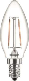 Philips Classic LED 2-25W/827 E14 57407200
