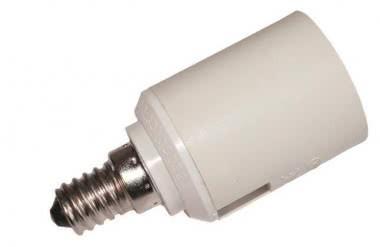 Scharnberger Adapter für Fassung Sockel E14 82450