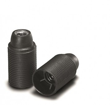 VOSS Iso-Fassung E14 schwarz