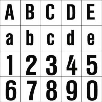 "RZB ""Buchstabe """"P"""",100mm"" 99222.013.P"